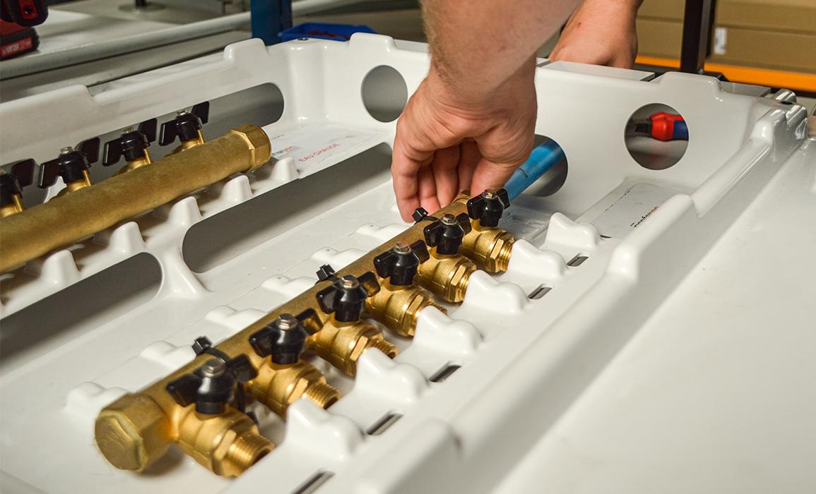 tuyau hydraulique construction modulaire